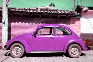 ¡Viva Mexico! Collection - Purple Volkswagen Beetle by Philippe Hugonnard