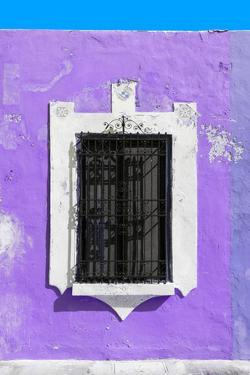 ¡Viva Mexico! Collection - Purple Window - Campeche by Philippe Hugonnard