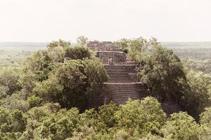 ¡Viva Mexico! Collection - Pyramid in Mayan City of Calakmul by Philippe Hugonnard
