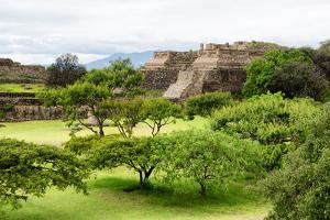 ¡Viva Mexico! Collection - Pyramid of Monte Alban by Philippe Hugonnard