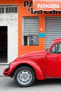 ¡Viva Mexico! Collection - Red VW Beetle Car by Philippe Hugonnard