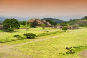¡Viva Mexico! Collection - Ruins of Monte Alban by Philippe Hugonnard