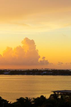 ¡Viva Mexico! Collection - Sunset over Cancun II by Philippe Hugonnard
