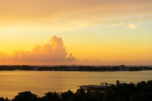 ¡Viva Mexico! Collection - Sunset over Cancun by Philippe Hugonnard