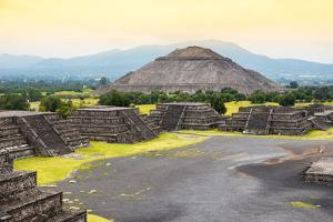 ¡Viva Mexico! Collection - Teotihuacan Pyramids IV by Philippe Hugonnard