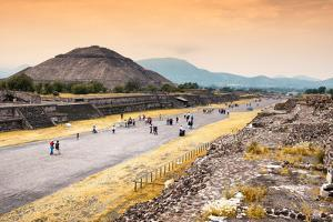 ¡Viva Mexico! Collection - Teotihuacan Pyramids by Philippe Hugonnard