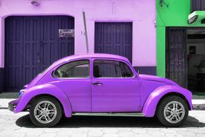 ¡Viva Mexico! Collection - The Purple Beetle Car by Philippe Hugonnard