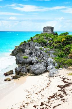 ¡Viva Mexico! Collection - Tulum Ruins along Caribbean Coastline VIII by Philippe Hugonnard