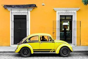 ¡Viva Mexico! Collection - VW Beetle - Gold & Yellow by Philippe Hugonnard