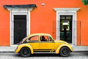 ¡Viva Mexico! Collection - VW Beetle - Orange & Gold by Philippe Hugonnard