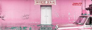 """¡Viva Mexico! Panoramic Collection - """"5 de febrero"""" Light Pink Wall by Philippe Hugonnard"""