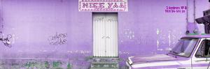 "¡Viva Mexico! Panoramic Collection - ""5 de febrero"" Purple Wall by Philippe Hugonnard"