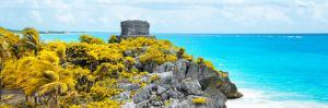 ¡Viva Mexico! Panoramic Collection - Caribbean Coastline in Tulum XIII by Philippe Hugonnard
