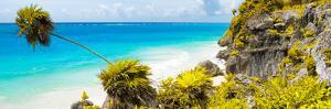 ¡Viva Mexico! Panoramic Collection - Caribbean Coastline - Tulum I by Philippe Hugonnard