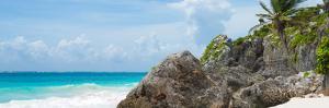 ¡Viva Mexico! Panoramic Collection - Caribbean Coastline - Tulum II by Philippe Hugonnard