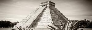 ¡Viva Mexico! Panoramic Collection - Chichen Itza Pyramid II by Philippe Hugonnard