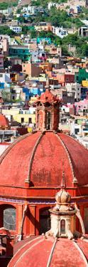 ¡Viva Mexico! Panoramic Collection - Church Domes Guanajuato by Philippe Hugonnard