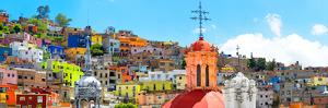 ¡Viva Mexico! Panoramic Collection - City of Colors Guanajuato by Philippe Hugonnard