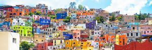 ?Viva Mexico! Panoramic Collection - Colorful City Guanajuato II by Philippe Hugonnard