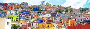 ¡Viva Mexico! Panoramic Collection - Colorful City Guanajuato II by Philippe Hugonnard