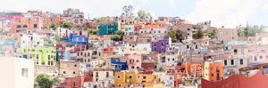 ¡Viva Mexico! Panoramic Collection - Colorful City Guanajuato III by Philippe Hugonnard