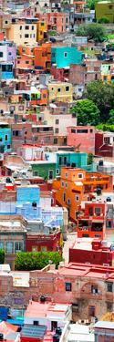 ¡Viva Mexico! Panoramic Collection - Colorful Cityscape - Guanajuato I by Philippe Hugonnard