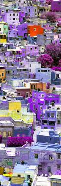¡Viva Mexico! Panoramic Collection - Colorful Cityscape - Guanajuato III by Philippe Hugonnard
