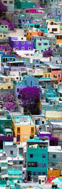 ¡Viva Mexico! Panoramic Collection - Colorful Cityscape - Guanajuato IV by Philippe Hugonnard