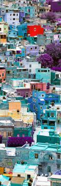 ¡Viva Mexico! Panoramic Collection - Colorful Cityscape - Guanajuato V by Philippe Hugonnard