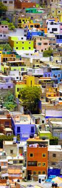 ¡Viva Mexico! Panoramic Collection - Colorful Cityscape - Guanajuato VI by Philippe Hugonnard
