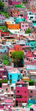 ¡Viva Mexico! Panoramic Collection - Colorful Cityscape - Guanajuato VIII by Philippe Hugonnard