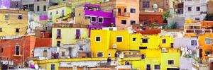 ¡Viva Mexico! Panoramic Collection - Colorful Cityscape Guanajuato XI by Philippe Hugonnard