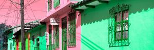 ¡Viva Mexico! Panoramic Collection - Colorful Houses in San Cristobal II by Philippe Hugonnard