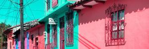¡Viva Mexico! Panoramic Collection - Colorful Houses in San Cristobal III by Philippe Hugonnard