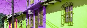 ¡Viva Mexico! Panoramic Collection - Colorful Houses in San Cristobal IV by Philippe Hugonnard