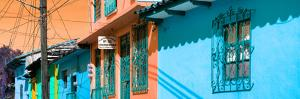 ¡Viva Mexico! Panoramic Collection - Colorful Houses in San Cristobal VI by Philippe Hugonnard