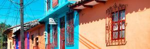 ¡Viva Mexico! Panoramic Collection - Colorful Houses in San Cristobal by Philippe Hugonnard