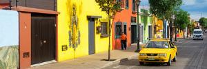 ¡Viva Mexico! Panoramic Collection - Colorful Mexican Street by Philippe Hugonnard