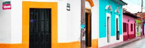 ¡Viva Mexico! Panoramic Collection - Colorful Street III by Philippe Hugonnard