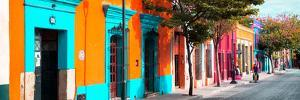 ¡Viva Mexico! Panoramic Collection - Colorful Street in Oaxaca II by Philippe Hugonnard