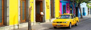 ¡Viva Mexico! Panoramic Collection - Colorful Street in Oaxaca VIII by Philippe Hugonnard