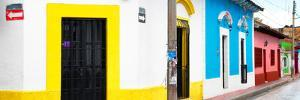 ¡Viva Mexico! Panoramic Collection - Colorful Street by Philippe Hugonnard