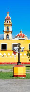 ¡Viva Mexico! Panoramic Collection - Courtyard of a Church - Puebla by Philippe Hugonnard