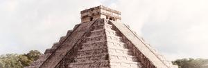 ¡Viva Mexico! Panoramic Collection - El Castillo Pyramid - Chichen Itza I by Philippe Hugonnard