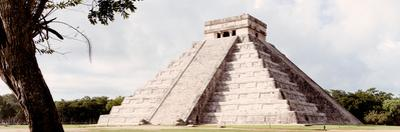 ¡Viva Mexico! Panoramic Collection - El Castillo Pyramid - Chichen Itza XII by Philippe Hugonnard