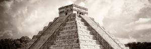 ¡Viva Mexico! Panoramic Collection - El Castillo Pyramid - Chichen Itza by Philippe Hugonnard