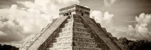 ¡Viva Mexico! Panoramic Collection - El Castillo Pyramid in Chichen Itza I by Philippe Hugonnard