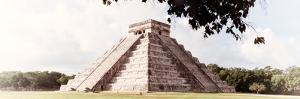 ¡Viva Mexico! Panoramic Collection - El Castillo Pyramid in Chichen Itza XII by Philippe Hugonnard