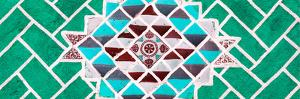 ¡Viva Mexico! Panoramic Collection - Green Mosaics by Philippe Hugonnard