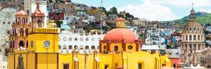 ¡Viva Mexico! Panoramic Collection - Guanajuato Church Domes IV by Philippe Hugonnard